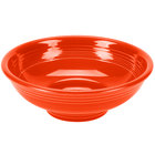 Homer Laughlin 765338 Fiesta Poppy 2 Qt. Pedestal Serving Bowl - 4 / Case