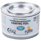Choice Methanol Gel Chafing Dish Fuel   - 72/Case
