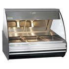 Alto-Shaam HN2 48 Heated Display Case with Curved Glass - Countertop with Legs 48 inch