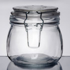 American Metalcraft Glass Food Storage Jars and Ingredient Canisters