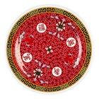 Longevity 7 7/8 inch Round Melamine Plate - 12/Pack
