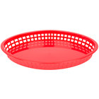 Oval Plastic Food Baskets