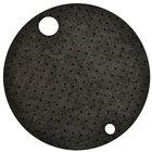 Spilfyter G-76 Universal Black Heavy Weight Absorbent Drum Top - 25/Case
