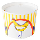 Choice 3.5 lb. Chicken Bucket with Lid - 35 / Pack