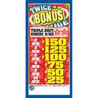 Twice Bonus Joe 1 Window Pull Tab Tickets - 2322 Tickets Per Deal - Total Payout: $1800