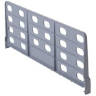Cambro CSSD218151 Gray ABS Plastic Shelf Divider for 21 inch Camshelving Premium and Elements Series