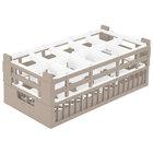 Vollrath 52821 Signature Half-Size Cocoa 10-Compartment 7 3/16 inch Tall Rack