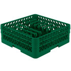 Vollrath TR3AAP14 Traex Green Extended Peg Rack for 12 1/4