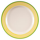 Homer Laughlin Sunflower and Shamrock Rolled Edge China Dinnerware