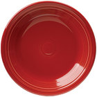 Homer Laughlin 466326 Fiesta Scarlet 10 1/2 inch Dinner Plate - 12 / Case