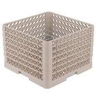 Vollrath PM0912-6 Traex Beige 9 Compartment Plate Rack - 11 1/4