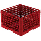 Vollrath PM1510-5 Traex Red 15 Compartment Plate Rack - 9