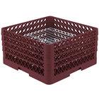 Vollrath PM3208-2 Burgundy Traex 32 Compartment Plate Rack
