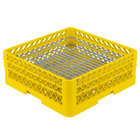 Vollrath PM4806-2 Yellow Traex 48 Compartment Plate Rack - 5 inch-6 inch