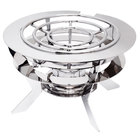 Eastern Tabletop LR-002 Live Era Collection Heavy Duty Stainless Steel Stand with Grate Top