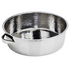 Eastern Tabletop 5703 6 Qt. Stainless Steel Hammered Pot