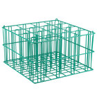16 Compartment Catering Glassware Basket - 4 inch x 4 inch Compartments