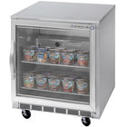 Beverage Air UCF27A-25-LED 27 inch Undercounter Freezer with Glass Door - 7.3 Cu. Ft.