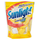 Diversey CB711021 Sunlight 12.6 oz. Single Dose Auto Dish Powder Pouch - 120 / Case