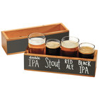 Beer Sampler Glasses and Beer Paddles