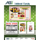 Big Pig 1 Window Pull Tab Tickets - 636 Tickets Per Deal - Total Payout: $500