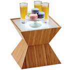 Cal-Mil 3028-60 Bamboo Riser with Corian Top - 10 1/2