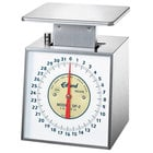 Edlund DF-2 Deluxe 32 oz. Portion Scale with 6 inch x 6 3/4 inch Platform