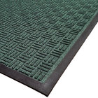 Cactus Mat 1426M-G46 Water Well II 4' x 6' Parquet Carpet Mat - Green