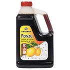 Kikkoman Ponzu Citrus Seasoned Dressing - (6) .5 Gallon Containers / Case