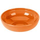 Homer Laughlin 1459325 Fiesta Tangerine 68 oz. Large Bistro Bowl   - 4/Case