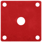 GET ML-224-RSP Red Sensation Melamine False Bottom for ML-150 Square Crocks - 12/Case