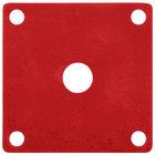 GET ML-224-RSP Red Sensation Melamine False Bottom for ML-150 Square Crocks - 12/Case