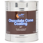 Chocolate Ice Cream Cone Shell Dip - #10 Can