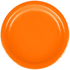 Creative Converting 79191B 7 inch Sunkissed Orange Paper Lunch Plate - 24 / Pack
