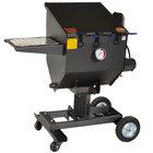 R &amp&#x3b; V Works FF3-R-SS 8.5 Gallon Stainless Steel Outdoor Cajun Deep Fryer - 90,000 BTU