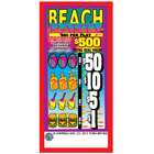 Beach Party 5 Window Pull Tab Tickets - 1800 Tickets per Deal - Total Payout: $675