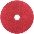 3M 5100 13 inch Red Buffing Pad - 5/Case