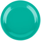 Carlisle 4350309 Dallas Ware 7 1/4 inch Meadow Green Melamine Plate - 48/Case