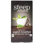 Steep By Bigelow Organic English Breakfast Tea - 20/Box