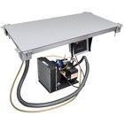 Hatco CSU-48-I Aluminum Built-In Undermount Cold Shelf - 48 inch x 19 1/2 inch