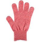 San Jamar SG10-RD-L Red Cut Resistant Glove with Dyneema - Large