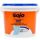 GOJO® 6299-02 Fast Towels Hand Cleaning Wipes 225 Count Bucket - 2/Case