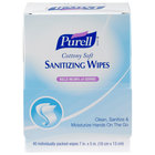 Purell® 9025-12 Cottony Soft Sanitizing Wipes 40 Count Self-Dispensing Display Box - 12 / Case