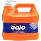 GOJO® 0955-04 1 Gallon Natural Orange Pumice Hand Cleaner - 4/Case
