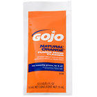 GOJO® 2330-01 0.5 oz. Natural Orange Pumice Hand Cleaner - 40/Case