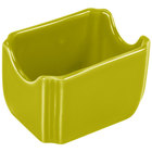 Homer Laughlin 479332 Fiesta Lemongrass 3 1/2 inch x 2 3/8 inch Sugar Caddy - 12/Case