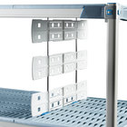 Metro MD18-16 18 inch Shelf-to-Shelf Divider for Open Grid and Wire Shelves - 16 inch High