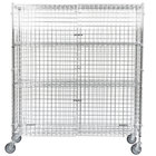 Regency NSF Mobile Chrome Wire Security Cage Kit - 18