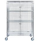 Regency NSF Mobile Chrome Wire Security Cage Kit - 24