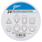 Ateco 4845 24-Piece Stainless Steel Geometric Shapes Cutter Set (August Thomsen)